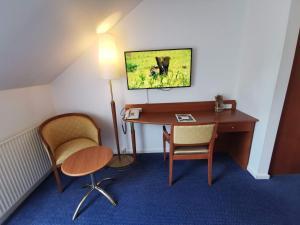 TV/Unterhaltungsangebot in der Unterkunft Hotel Scheelsminde