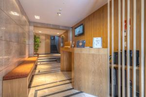 The lobby or reception area at Spot Family Apartments