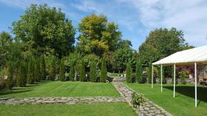 A garden outside Aya Maria Wellness SPA Resort