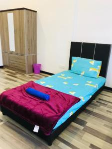 A bed or beds in a room at Arte S 3A-15-3 Comfortable Home With Mountain View Max 8paxs