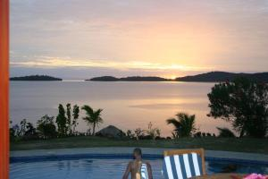 The swimming pool at or close to Bularangi Villa, Fiji