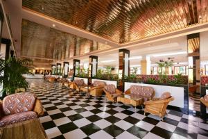 Un restaurante o sitio para comer en Puerto Palace