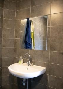 A bathroom at Amsterdam Hostel Leidseplein