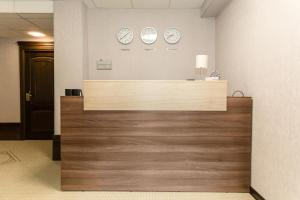 The lobby or reception area at Boutique Hotel on Mukomolniy