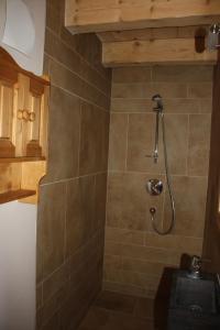 A bathroom at La Case