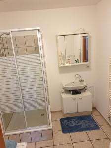 Ein Badezimmer in der Unterkunft Ferienappartment Lucia