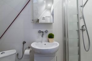 Łazienka w obiekcie udanypobyt Apartament Zamoyskiego Centrum