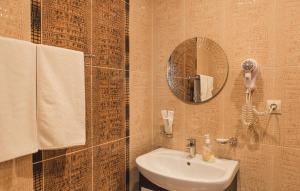 Ванная комната в Палладиум отель