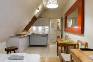 Kuchnia lub aneks kuchenny w obiekcie udanypobyt Apartament Zamoyskiego Centrum