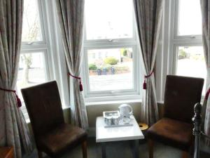 A seating area at Stour Lodge Guest House