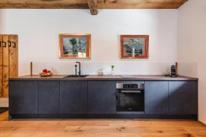 Küche/Küchenzeile in der Unterkunft Appartementhaus Plainstöckl