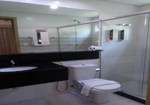 A bathroom at Hotel Anahí