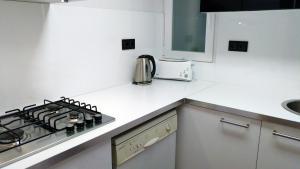 Una cocina o zona de cocina en La Fira