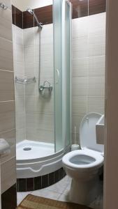 A bathroom at Basis-M Hotel