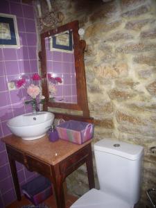 A bathroom at Casa do Monge