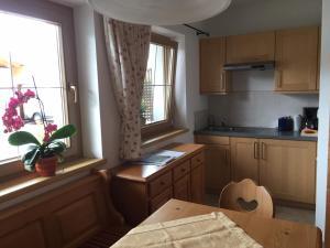 Küche/Küchenzeile in der Unterkunft Apartment Marlene