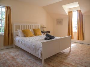 Een bed of bedden in een kamer bij Bamff Ecotourism