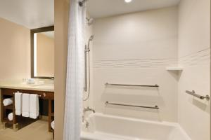 A bathroom at Homewood Suites By Hilton Augusta
