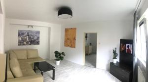 Posezení v ubytování Apartmán Hodruša-Hámre