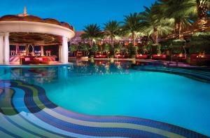 The swimming pool at or near Encore at Wynn Las Vegas