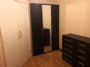 A bathroom at Olympus Apartment