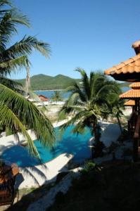 A view of the pool at Buritara Resort, Phangan Island or nearby