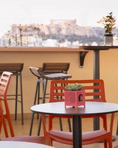 Балкон или терраса в My Athens Hotel