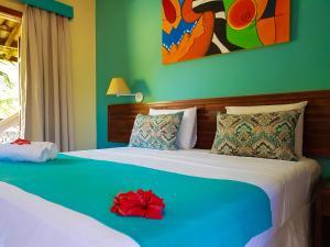 Cama ou camas em um quarto em Terra Boa Hotel Boutique