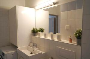 Koupelna v ubytování Vienna Apartment Gutarra II