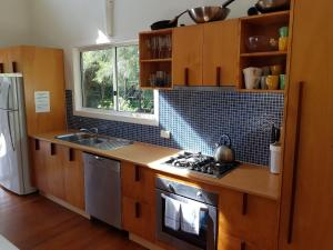 A kitchen or kitchenette at The Boarding House