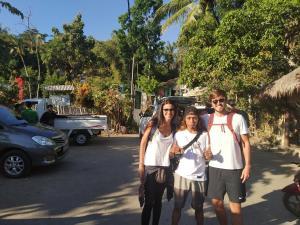 Guests staying at Bintang Senaru Homestay