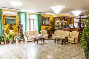Hall o reception di Hotel Cavour