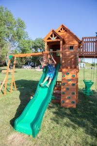 Children's play area at Arrowwood Resort at Cedar Shore