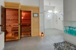 Koupelna v ubytování Chateau Herálec Boutique Hotel & Spa by L'Occitane