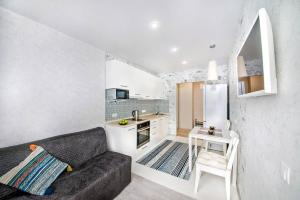 A seating area at Apartment on Fastovskaya 29