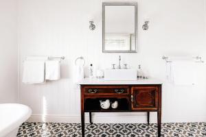 A bathroom at Nightcap Ridge - Byron Bay Hinterland