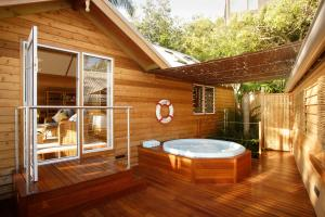 Spa and/or other wellness facilities at Kims Beachside Retreat