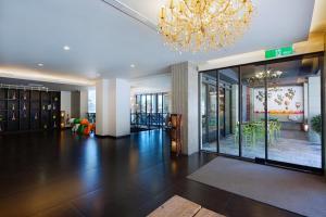 麗翔酒店連鎖花蓮館大廳或接待區