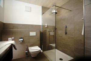 Ein Badezimmer in der Unterkunft Hotel Waldblick