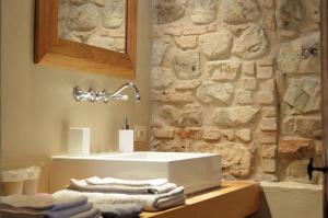 A bathroom at Il Casale del Duca