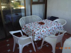 Zona de estar de Costa Natura Naturist Apartment