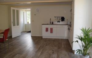 Een keuken of kitchenette bij Het Friese Landschap