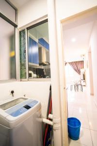 A bathroom at 'A'ffordable Spacius Apartment@Penang