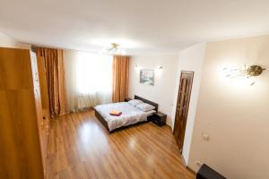 Кровать или кровати в номере Квартира в центре Барнаула! Красноармейский 77-53