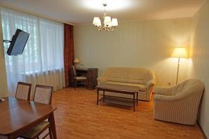 Гостиная зона в Апарт-Отель Нагорное