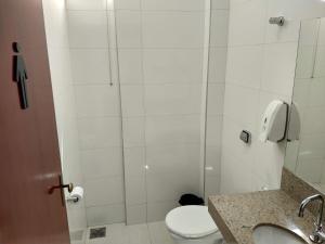 A bathroom at Hotel Panorâmico