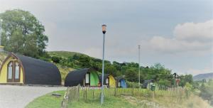 Children's play area at East Coast Adventure Centre Glamping