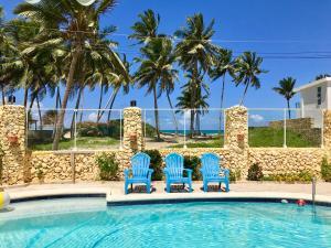 The swimming pool at or close to Brisas Doradas