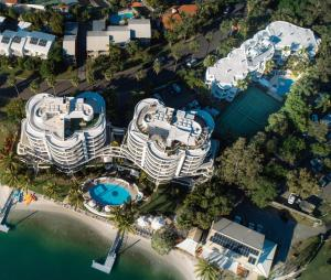 A bird's-eye view of Noosa Pacific Resort