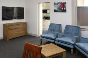 A seating area at The Prospect of Howick Accommodation